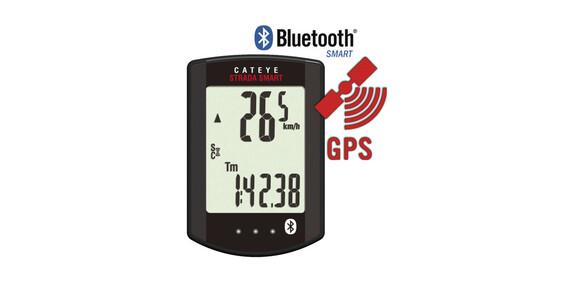 CatEye Strada Smart CC-RD500B GPS zwart